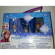 Disney Frozen - Collectible Eraser Case (4 X 5.75 X 1.5 In) With 3 Disney FrozenFigures