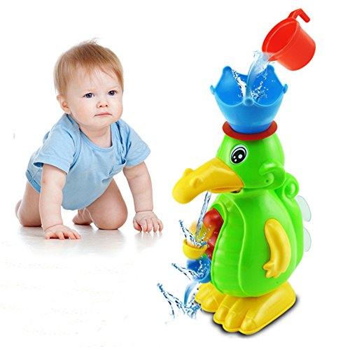 4pcs/set Bathing Ducks,Beach toys,Wheel Type Dabbling Toy,Great Gifts Baby dabble Suite,Beach toys sets/tools for 1-7 years toodlers&children