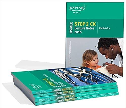 USMLE Step 2 CK Lecture Notes 2016 (Kaplan Test Prep): Kaplan