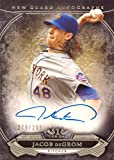2015 Topps Tier One New Guard Autographs #NGA-JDM Jacob deGrom Certified Autograph Baseball Card - Only 299 made!