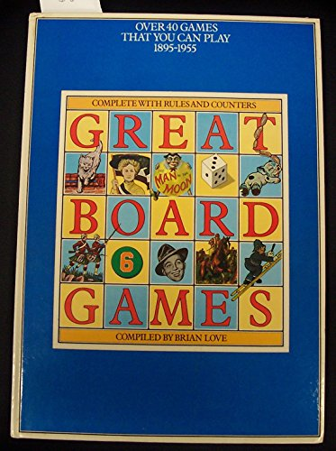 Price comparison product image Great Board Games: Over 40 Games That You Can Play,  1895-1955