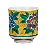 Kutani Yaki(ware) Japanese Yunomi Tea Cup Yoshidaya
