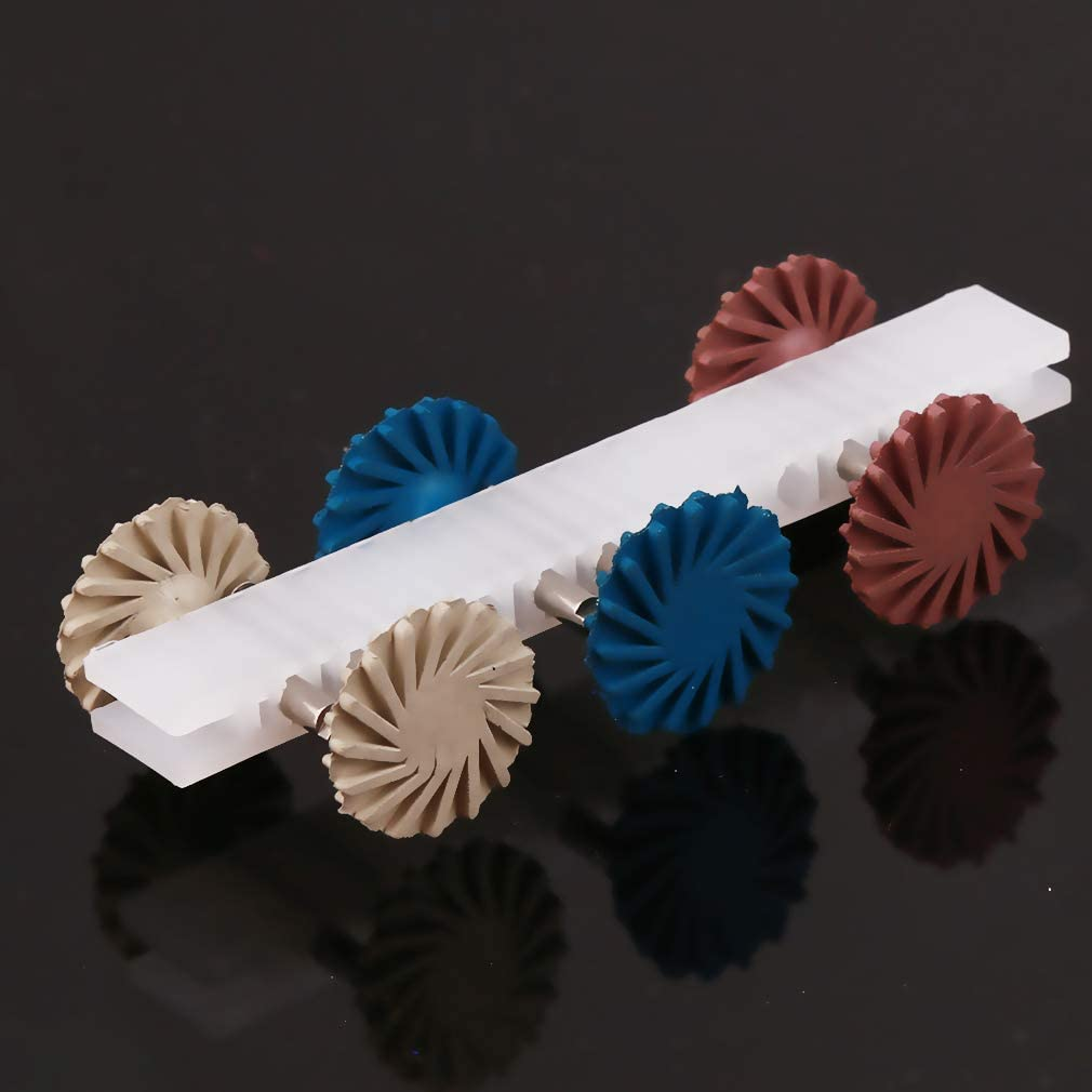 Atmneris Disc Polishing Wheel Rotary Drill Tool Accessories Abrasive Wheels Set
