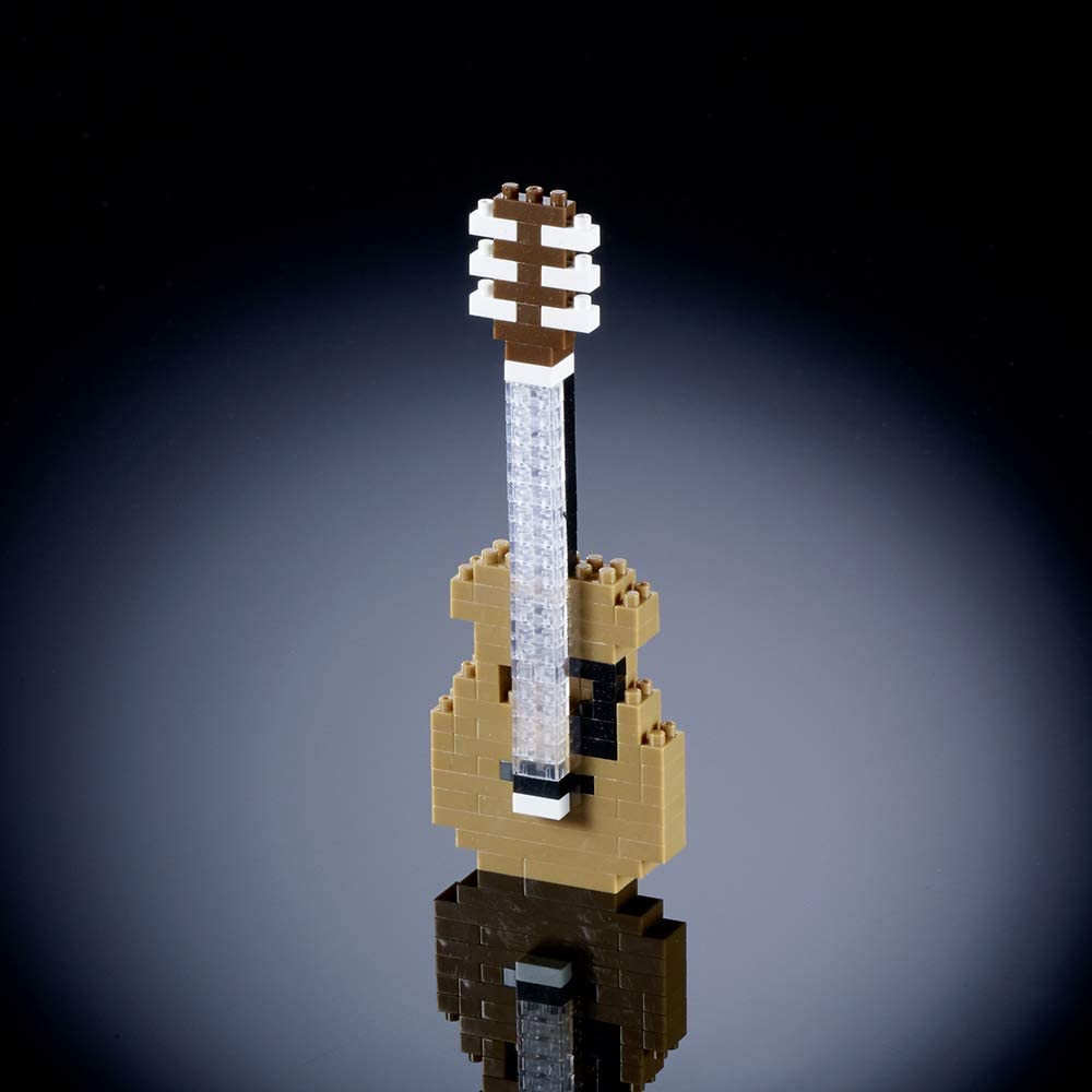 Brixies 410,121 - Guitarra, Rompecabezas 3D, Instrumentos ...