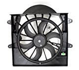 air conditioner radiator - Depo 333-55039-000 Radiator/Air Conditioner Fan Assembly (JEEP GRAN CHROKE 09-10/COMNDER 08-10 3.7/4.7L ASSEMBLY)