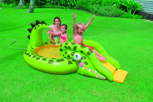 Intex 57132 - Play Center Coccodrillo, 251 x 140 x 86 cm Intex Amazon IT 57132NP