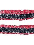Forum Novelties Roaring 20s Garter Armband - Standard - Red/Black