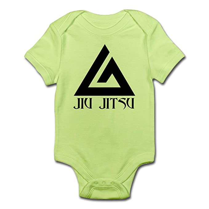 42361c8db Amazon.com  CafePress-Jiu Jitsu-Cute Infant Bodysuit Baby Romper ...