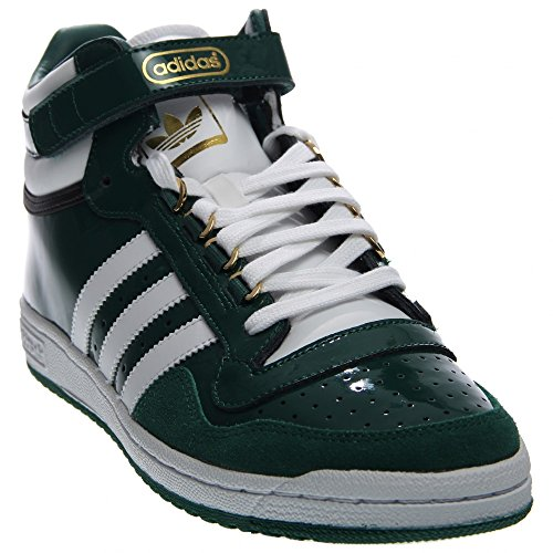 Patent Adidas Leather - Adidas Concord 2.0 Mid Men US 8 Green Sneakers