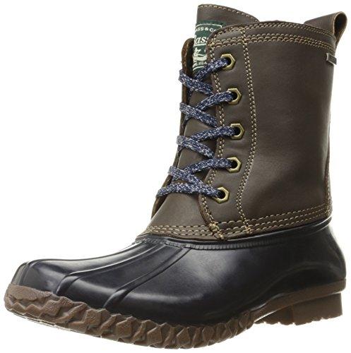 G.H. Bass fMQt87n4Wa Women's Daisy Rain Boot Chocolate/Navy
