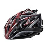 Gonex Adult Bicycle Helmet with 24 Vents, Red and Black