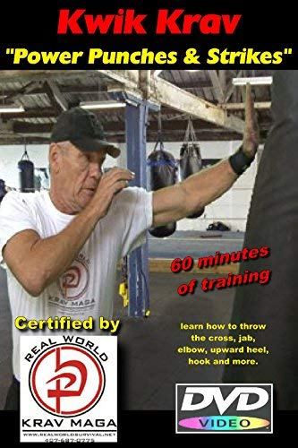 Power Punches & Strikes for Krav MAGA, Boxing, MMA, Self Defense Training DVD