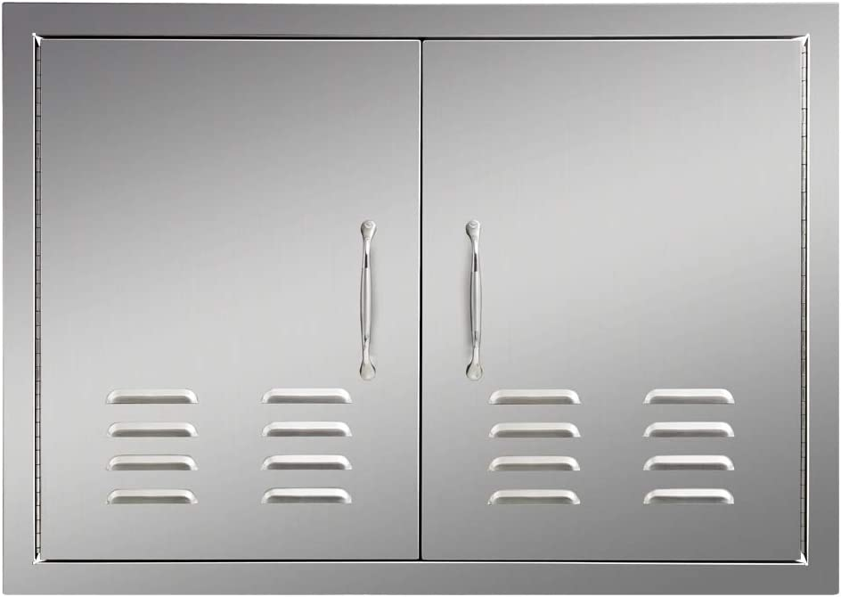 OUTDOOR KITCHEN BBQ ISLAND 304 STAINLESS STEEL DOUBLE ACCESS DOOR USA MADE