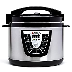 Power Pressure Cooker XL XL 10-Quart Electric Pressure, Slow, Rice Cooker, Steamer & More, 7 One-Touch Programs… 7
