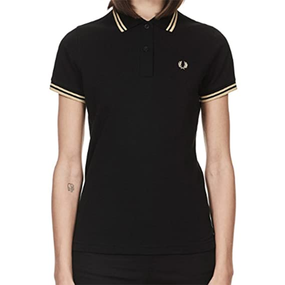 Fred Perry WomenŽs Shirt Twin Tipped G12 157-14: Amazon.es: Ropa y ...