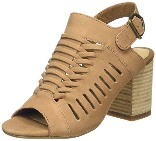 Tan Women's Hush NuBuck Malia Sidra Sandal Puppies Heeled FPwwY6pq