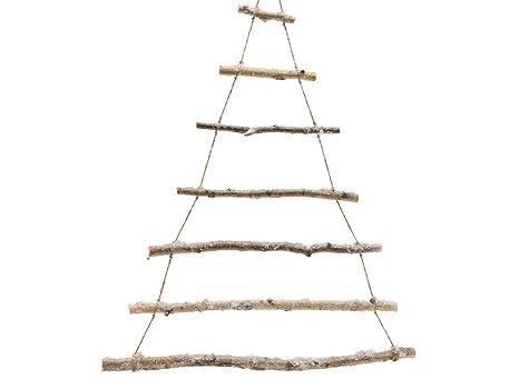 Alberi Di Natale In Legno Amazon.Albero Di Natale A Strisce 180cm In Legno Addobbi