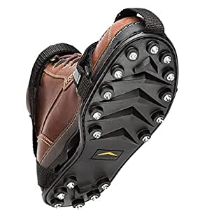 STABILicers Maxx Original Heavy Duty Stabilicers Ice Traction Cleat for Snow and Ice - XX-Small - Traction cleats for Boots and Shoe Ice Cleats