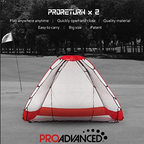 ProAdvanced ProReturn X2 Multi-Sport Indoor/Outdoor Hitting Net/Ball-Return Backstop (2017 New)