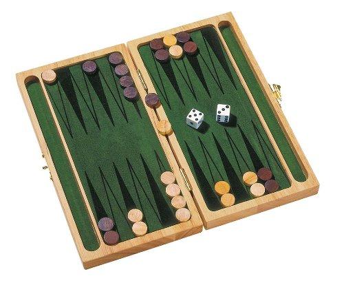 Goki HS056 - Brettspiel - Backgammon