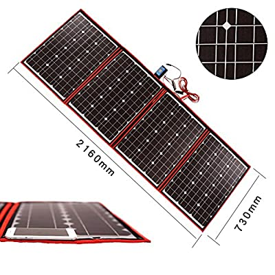 Dokio XX Watts 12 Volts Monocrystalline foldable Solar Panel¡­