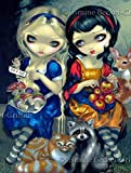 """Best Wall Pops Friends Photos - """"Alice and Snow White"""" SIGNED Glossy Photo Art Review"""
