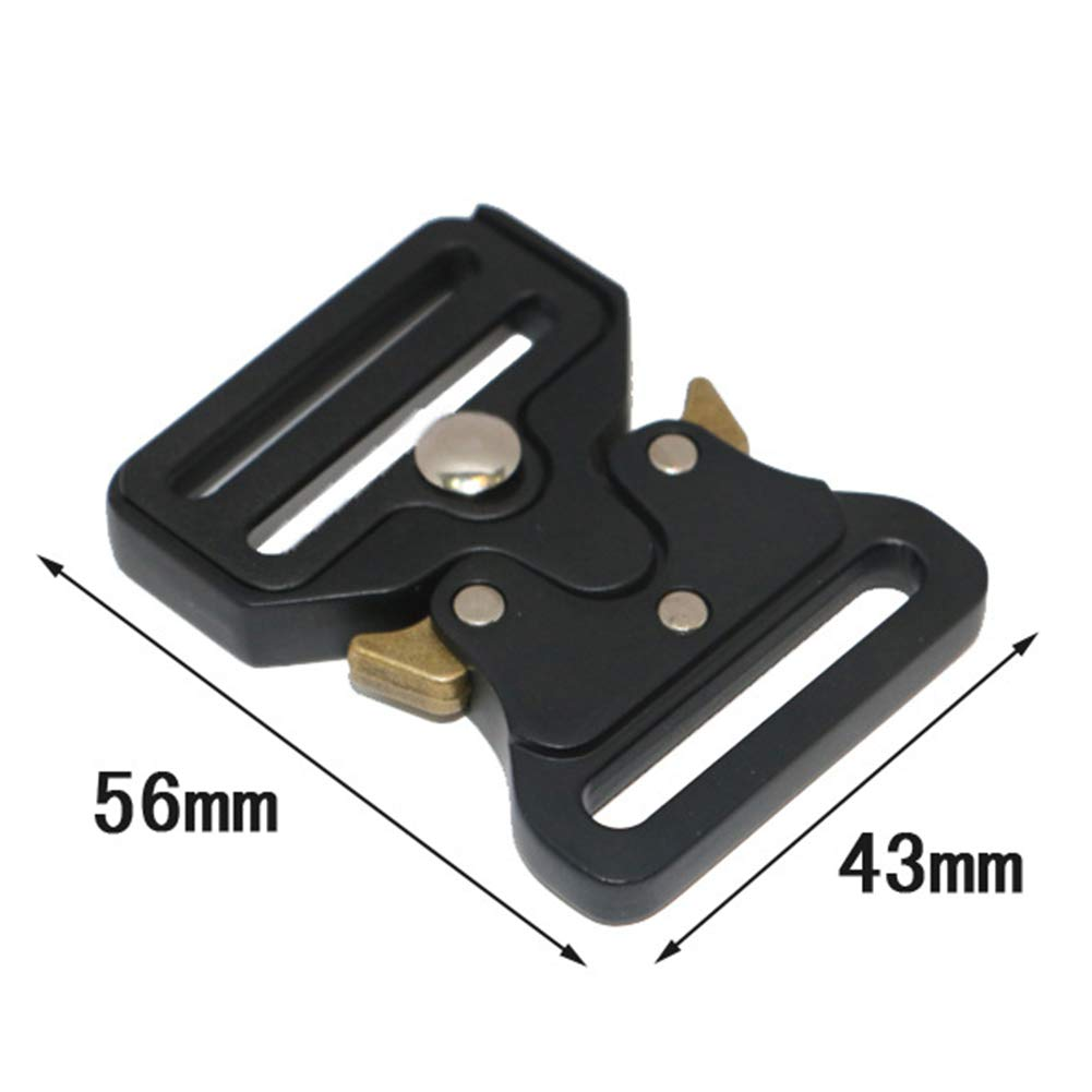 Alicer Schnalle,Release Buckle,Tactical Military Quick Release G/ürtelschnalle f/ür Special Troops Rescue Rigger Jagd Sport Outdoor Klettern
