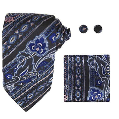 Tie of By Idea YAC1B02 Day 3PT Silk amp;G Colors H5005 Paisley Y Various Adults Gift pwzqfgwF