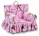 Kangaroo Trading Addison Skirted Grab'N'Go Chair Mossy Oak Lifestyle Pink Childrens