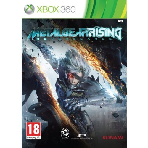Metal Gear Rising Revengeance (English, French, Italian, German, Spanish, Portuguese, Japanese Language) [Multi-language Edition] REGION FREE Xbox 360 GAME (Metal Gear Rising Revengeance 360)