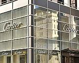 Cartier Wall Art, Prada Wall Decor, Cartier Store Sign Art Print, Fashion Wall Art, New York City Fashion Photography, Fashion Wall Decor, Dorm Wall Art, Girls Room Wall Art, Bathroom Decor