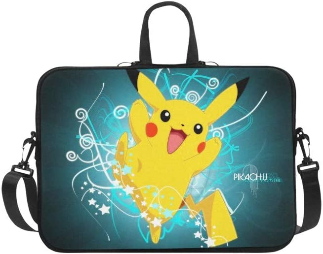 """CHRISTIE QUINN Pikachu Messenger Laptop Bag (17"""")"""