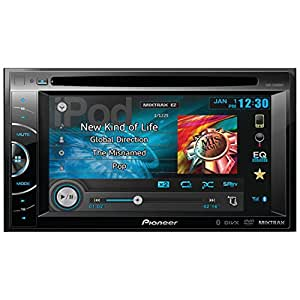 Pioneer AVH-X2600BT 2-DIN Multimedia DVD Receiver with 6.1 Inch WVGA Touch Screen Display (Discontinued by Manufacturer)