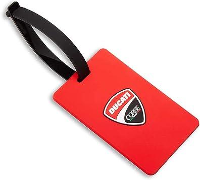 Ducati D Travel Gepäckanhänger Rot Corse Logo Koffer Rucksäcke Taschen