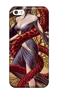ClaudiaDay Premium Protective Hard Case For Iphone 5/5s- Nice Design - Vampire Is The Demon