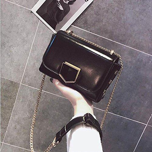 unique sac sac bandoulière fermeture Aoligei à sac à oblique C et sac femme chaîne côté Petit petit mode 4zzxqRwHS