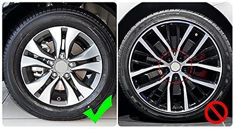 Amazon.com: 20pcs Universal 21mm Silicone Car Wheel Lug Nut Bolt Cover Protective Tyre Valve Screw Cap Antirust Black: Automotive