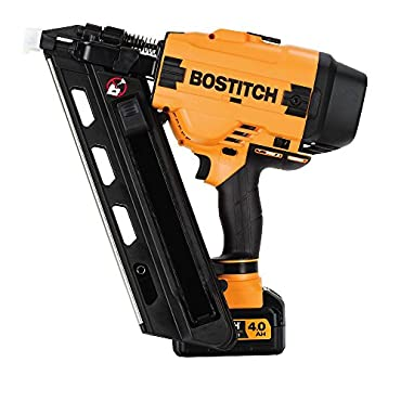 BOSTITCH BCF30PTM1 20V MAX 30 Degree Paper Tape Cordless Framing Nailer (Includes Battery and Charger)