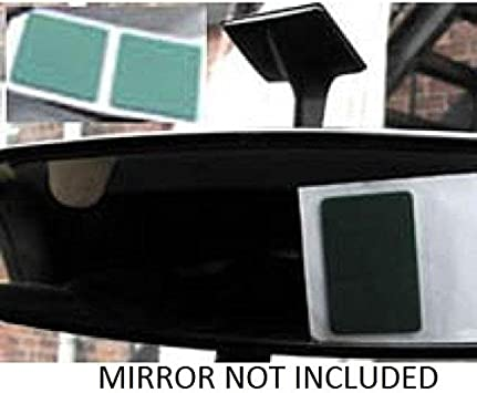 EXTRA STRONG INTERIOR REAR VIEW MIRROR ADHESIVE STICKY PADS PEEL BACK STICK ON