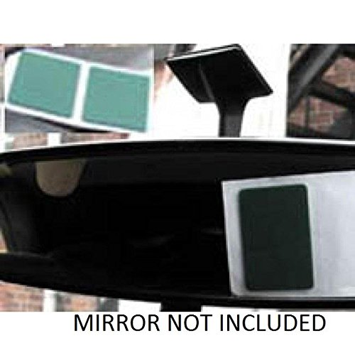 EXTRA STRONG INTERIOR REAR VIEW MIRROR ADHESIVE STICKY PADS PEEL BACK STICK ON AutoPower