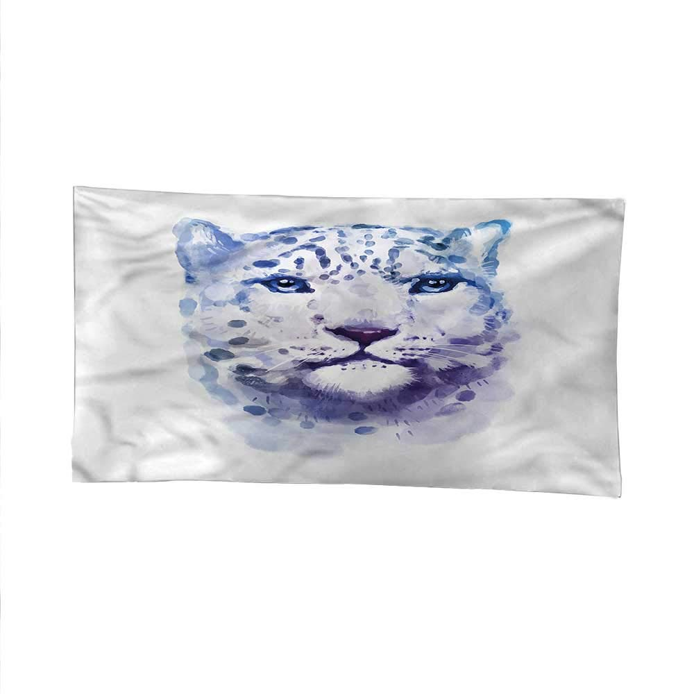 color05 93W x 70L Inch color05 93W x 70L Inch Animalspace tapestrywall Hanging tapestryArtsy Leopard Wild Cat 93W x 70L Inch