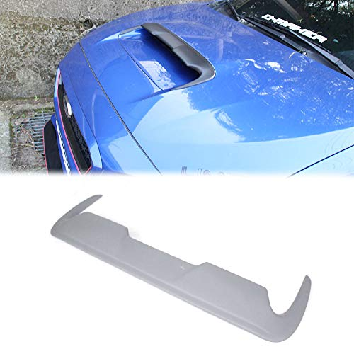 Compatible with 2015-2019 Subaru WRX STI Sedan Levorg Wagon Front Hood Bonnet Scoop Vent DTO Style Painted