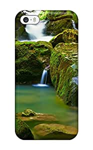 Premium [BXPmYcF14071mGiDi]waterfall Case For Iphone 5/5s- Eco-friendly Packaging(3D PC Soft Case)