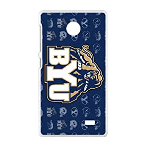 BYU Cougars Brigham Young Cougars Logo Cell Phone Case for Nokia Lumia X