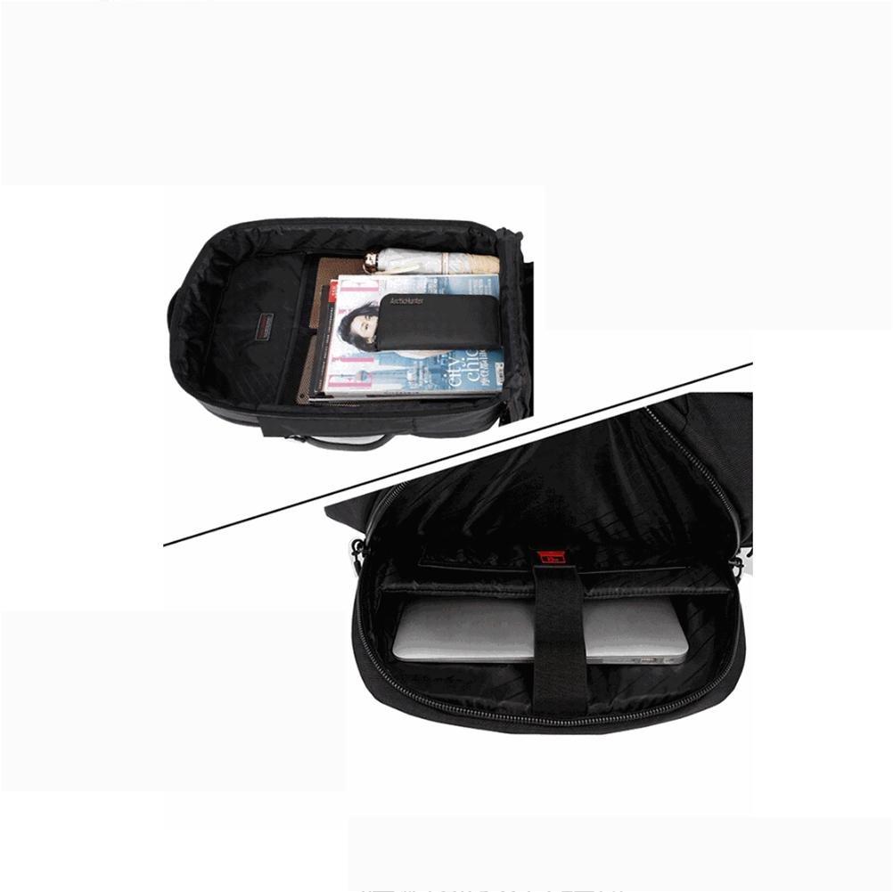 Laptop Mochilas (hasta 18 pulgadas) Versátil Gran capacidad de Impermeable Paño de capacidad Oxford Viajes Mochila , ash 51c270
