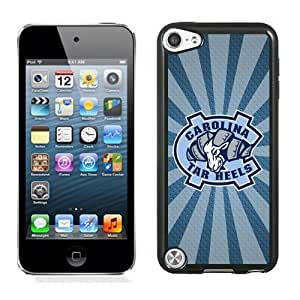 Beautiful And Popular Designed With NCAA Atlantic Coast Conference ACC Footballl North Carolina Tar Heels 8 Protective Cell Phone Hardshell Cover Case For iPod 5 Phone Case Black