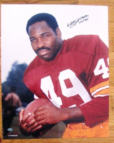 Bobby Mitchell Autographed 16 x 20 Photograph - Washington Redskins - NFL Hall of Fame 1983 ()