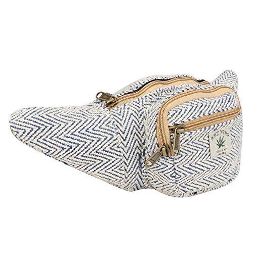 - Hemp Fanny Pack,Adjustable Waist and Multiple Pockets,Waist Bag & for all purpose