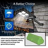 Solar Street Light Outdoor Lamp, 280 LEDs IP65
