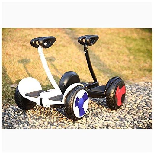 Hoverboard Electrique Électrique équilibrage voiture, voiture Thinking Deux-roues, Adulte Scooter, somatosensoriel à deux roues for les enfants, Torsion voiture, avec levier Hover Scooter Board
